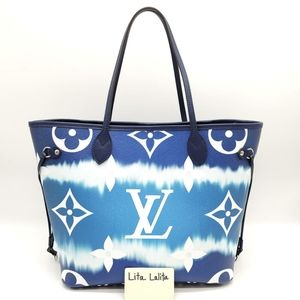 Like new Neverfull MM LV Escale Blue